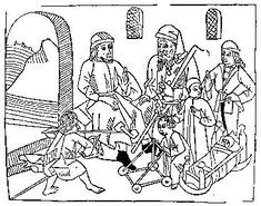 Medieval Woodcuts Clipart Collection 23. The Ages of Man, from Bartholomaeus Anglicus, Propriétaire des Choses, Lyon 1482. oktouse