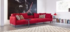 CORAL BONALDO.  Il divano Coral ha un rivestimento in tessuto o pelle, completamente sfoderabile. La sua seduta generosa regala una comodità senza precedenti.