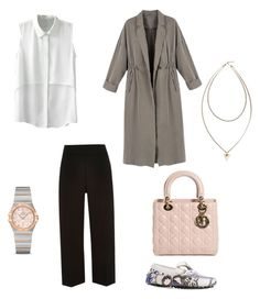 """✨"" by fatimah42 on Polyvore featuring River Island, Tod's, Givenchy, Christian Dior and OMEGA"