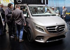 2018 Mercedes-Benz V-Class Powertrain, New Design