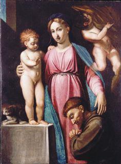 Adoration of the Madonna | artist and provenance unknown ---- Zamoyski Museum, Kozłów