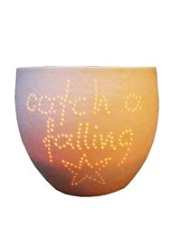 Cute Candle bowl~Catch a falling star and put in your pocket never let it fade away. *