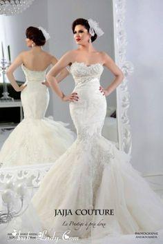 فساتين زفاف رائعة بتصاميم تملؤها الفخامة