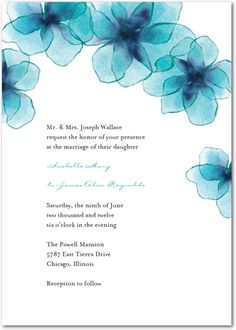 Signature White Textured Wedding Invitations - Dreamy Destination by Wedding Paper Divas