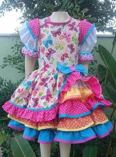 Vestido Menina Aurea 2