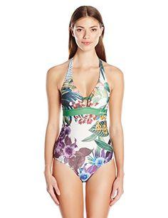 DESIGUAL Women's Caribe One Piece Swimsuit, Rojo Fluor, Medium Desigual http://smile.amazon.com/dp/B016KL26PY/ref=cm_sw_r_pi_dp_elV8wb01X67F5