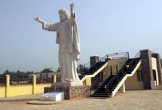 White Supremacy Gone Wild: Nigerian Businessman Builds 'Biggest' Statue Of Jesus In Africa