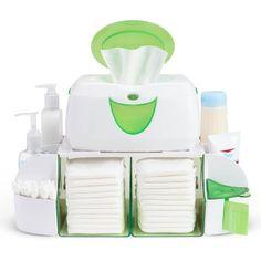Wipe Warmer Dresser Station Baby Diaper Towel Nappy Bag Milk Formula Organizer for sale online Couches, Wipes Dispenser, Diaper Organization, Nursery Organization, Diaper Caddy, Diaper Bags, Baby Wipe Warmer, Bagged Milk, Nursery Storage
