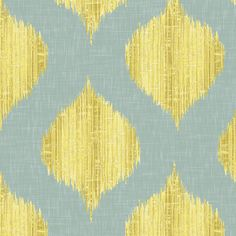Lela Ikat  for customer SIP fabric by willowlanetextiles on Spoonflower - custom fabric