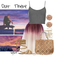 """""""Out There - Disney's Hunchback of Notre-Dame"""" by rubytyra on Polyvore"""