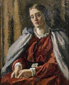 The Red Dress Vanessa Bell