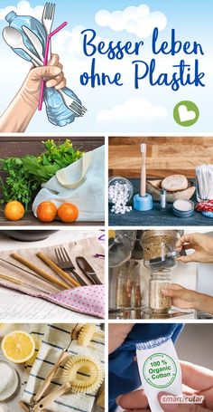 Living plastic-free: 7 simple principles for living without plastic Step by st. - Living plastic-free: 7 simple principles for living without plastic Step by step living plastic-f - Diy Organizer, Diy Organization, Diy Hacks, Diy Upcycled Art, Upcycled Furniture Before And After, Decoration Bedroom, Thrift Store Crafts, Diy Home Crafts, Diy Garden Decor
