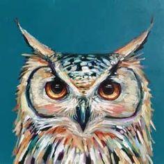 ... Owl art on Pinterest | Owl watercolor, Owl cartoon and Watercolor art
