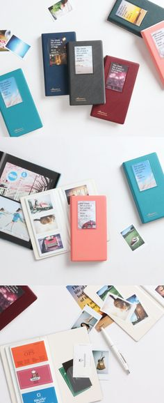 This sturdy album is where I would love to store my precious Instax mini photos! I'm planning to get more to organize all the business cards I have too!