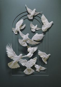 Amazing Paper Sculpture by Calvin Nicholls
