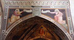 Agnolo Gaddi - Profeti - affresco - 1385 - Cappella Castellani - Basilica di Santa Croce a Firenze.
