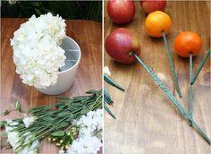 Fruit/Floral Arrangement DIY