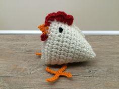Häkel-Anleitung Hühner-Familie - quick & easy Easter Crochet, Knit Crochet, Crochet Hats, Coin Purse, Crochet Patterns, Birds, Chicken, Knitting, Cute
