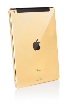 24k Gold 64GB iPad Air 2 by Goldgenie ( ) Cool Technology 53b01d225e6e1