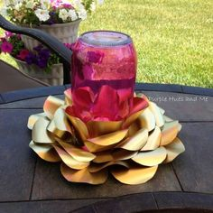 recycled soda beer cans candle holder, crafts, fireplaces mantels, home decor, painting, pallet, repurposing upcycling