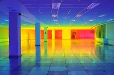 An Immersive Rainbow Light Installation | iGNANT.com
