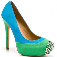 dressy spring colored pump