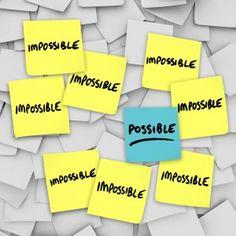 Lehetetlen, lehetetlen, lehetetlen -ismételgetjük, és keressük a választ arra, hogy: MIÉRT NEM? Találunk ezernyi okot, hogy ne kezdjük el, ne csináljuk, ne akarjuk.   Aztán egyszer csak jön valaki, aki azt mondja: lehetséges. Ő azon gondolkodik: MIÉRT IGEN? Talál egyetlen választ. És megvalósítja...
