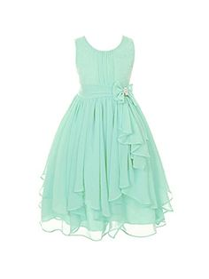 DressForLess Yoryu Chiffon Asymmetric Ruffled Flower Girl Dress , Mint, 4, (KK2040MT-4) DressForLess http://www.amazon.com/dp/B00K8GBRTO/ref=cm_sw_r_pi_dp_7prWub005R0AX