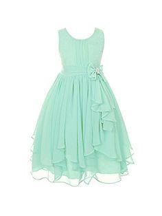 DressForLess Yoryu Chiffon Asymmetric Ruffled Flower Girl Dress , Mint, 8, (KK2040MT-8) DressForLess http://www.amazon.com/dp/B00K8GBURI/ref=cm_sw_r_pi_dp_iJ88tb1TE76TG