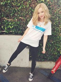 (Dove Cameron) Hi! I'm Dove Cameron! I'm 18, single, and a famous singer, actress, and songwriter. I'm really tall, slender, and elegant. I'm sweet, sassy, kind, loyal, brave, fierce, honest, humble, talkative, protective, and have trouble letting myself get close to others. I love animals, and I have several pets.