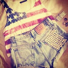 cute 4th of july outfit....LOVE <3