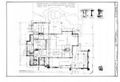 Gamble House, Floor Plans, Diagram, Floor Plan Drawing, House Floor Plans