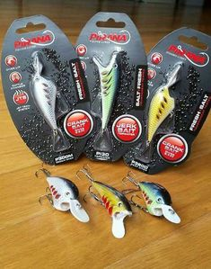 4 X Deadly Guppy Spinners 10 G 10 cm sandre bass Fishing Lures