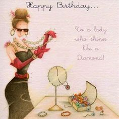 Birthday Quotes QUOTATION - Image : As the quote says - Description Ladies Birthday Collection . Discussion on LiveInternet - Russian Happy Birthday Messages, Happy Birthday Quotes, Happy Birthday Images, Happy Birthday Greetings, Birthday Pictures, Happy Birthday Woman, Birthday Fun, Happy Birthday Beautiful Lady, Beautiful Friend