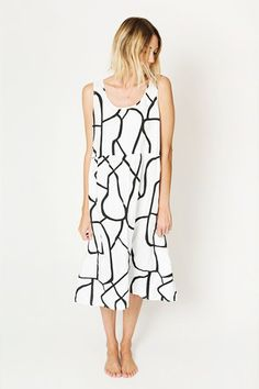 Can't get enough of the pattern on this breezy dress.