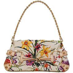 Gucci Embellished Floral Handbag  http://www.consignofthetimes.com/product_details.asp?galleryid=5406