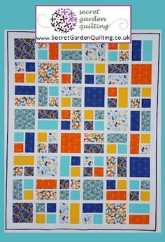 Squared Up Quilt Pattern