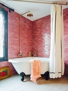 14 best pink bathroom decor images bathroom ideas beach bathrooms rh pinterest com