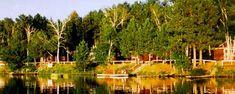 Cabin Rentals in St. Germain Wisconsin - Loon's Landing Resort One of our favorite rustic getaways