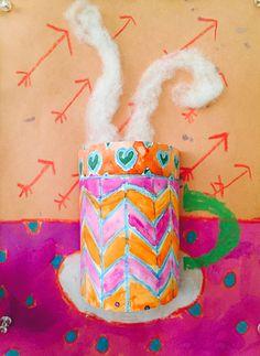 Les tasses de chocolat chaud - 4 e année