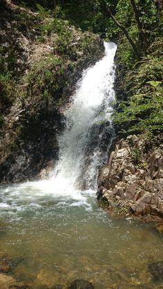 Caída de agua del rio del Mixcoate