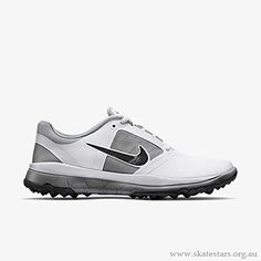 Nike Golf womens FI Impact Golf Shoe WhiteGreyBlack 10 BM US -- Check this awesome product by going to the link at the image. (This is an affiliate link) Nike Tennis Shoes, Nike Golf, Sneakers Nike, Best Golf Shoes, Womens Golf Shoes, Shoes Women, Ladies Golf, Women Golf, Nike Air Zoom Pegasus