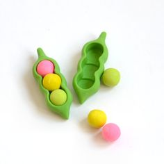 funny bean erasers