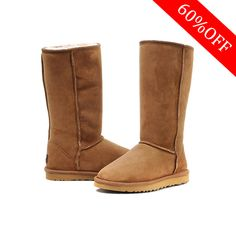 Best Seller* Genuine UGG Women Classic Tall 5815 Chestnut Boots