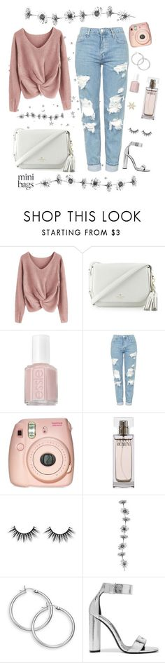 """Mini bags"" by bxxsic ❤ liked on Polyvore featuring Kate Spade, Essie, Topshop, Fujifilm, Calvin Klein and Tom Ford"