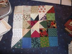 Quilt block from 2-1/2""