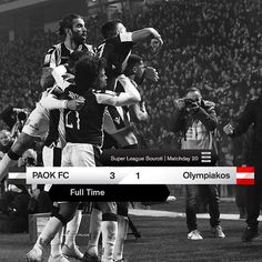 #PAOKOLY 3-1 #SuperLeague #TheFutureIsHere Scores, Finals, Concert, Instagram, Movies, Movie Posters, Films, Film Poster, Final Exams