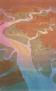Art inspired by Charleston-area coastline (by Mary Edna Fraser)