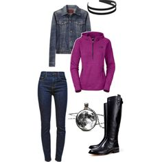 """""""everyday comfort and cute"""" by lynnerambling on Polyvore"""