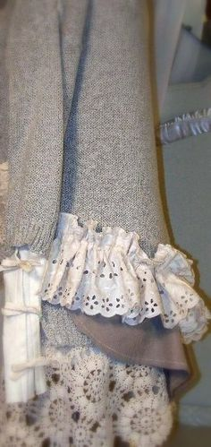 Sweater Cami Set POETRY IN MOTION Flax fabric linen by tamilyn, $68.00